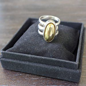 Silpada Silver Interchangable Stone Ring